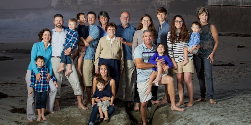 Tulsa Portrait Photography by Resolusean - family on beach