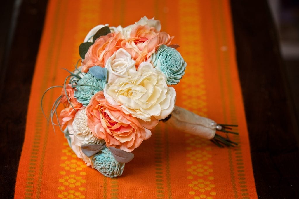 DIY wedding bouquet, pastel wedding bouquet, Tulsa wedding Photography